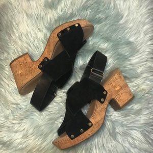 • Franco Sarto Platform Heels •